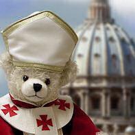 Papst, Heilige und Mönche