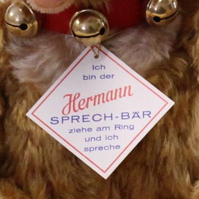 HERMANN Sprechbär Remake nach Modell-Vorlagen der HERMANN-Sprechbären von 1967