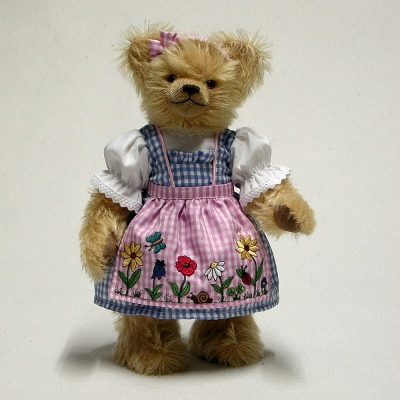 Wiesn-Liesel Oktoberfest Teddy BearTeddy Bear by Hermann-Coburg