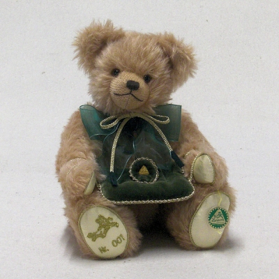 HERMANN Classic Trademark Bear 34 cm Teddy Bear by Hermann-Coburg