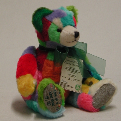 Colour and Design 36 cm Teddy Bear by Hermann-Coburg