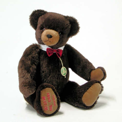 Precious Alpaca Bear Teddy Bear by Hermann-Coburg