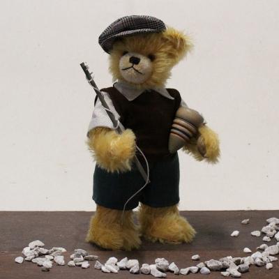 Kreisel Bär  33 cm Teddybär von Hermann-Coburg