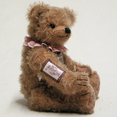 22. Sonneberger Museumsbär 2015 39 cm Teddybär von Hermann-Coburg
