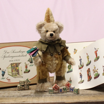 27th Sonneberg Museums Bear 35 cm Teddy Bear by Hermann-Coburg