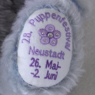 28. Festivalbär®  2019 zum 28. Puppenfestival 36 cm Teddy Bear by Hermann-Coburg