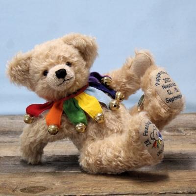 Festivalbär®  2021 – 29. in der Reihe 36 cm Teddy Bear by Hermann-Coburg