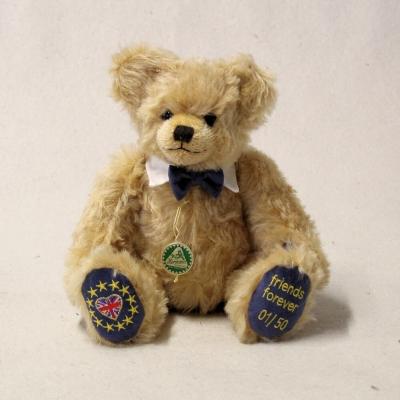 BREXIT – Bear friends forever 31 cm Teddy Bear by Hermann-Coburg
