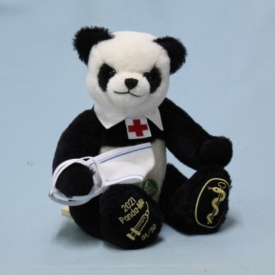2021  -   Panda - Mie 32 cm Teddy Bear by Hermann-Coburg