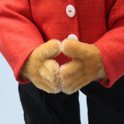 Angela Merkel - 16 Jahre Bundeskanzlerin der Bundesrepublik Deutschland 2005 - 2021  38 cm Teddy Bear by Hermann-Coburg