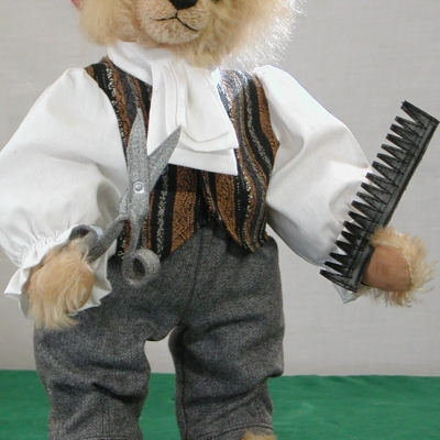 Figaro 38 cm Teddy Bear by Hermann-Coburg