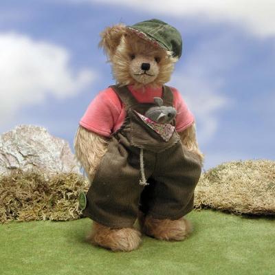 Mein Mausebärchen 33 cm Mohair  Teddybär von Hermann-Coburg