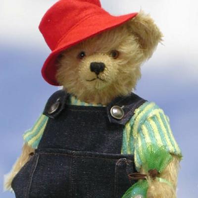 Murmel Bär Teddy Bear by Hermann-Coburg