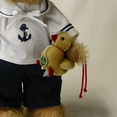 Little Sailor Teddy Bear by Hermann-Coburg