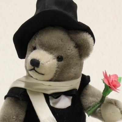 Club Bär 2012 – Rosenkavalier 19 cm Teddy Bear by Hermann-Coburg