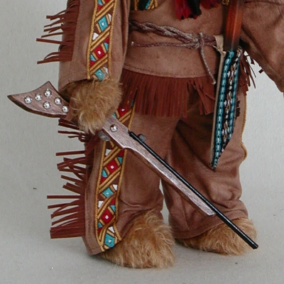 Chief of the Apaches  41 cm Teddy Bear by Hermann-Coburg