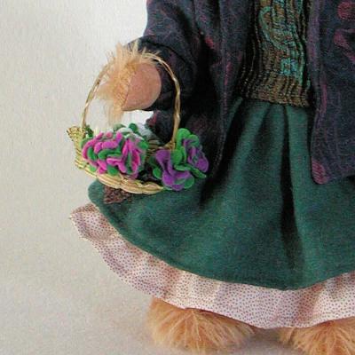 Eliza Doolittle 37 cm Teddy Bear by Hermann-Coburg