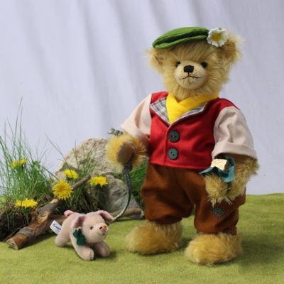 Hans in Luck 35 cm Teddy Bear by Hermann-Coburg