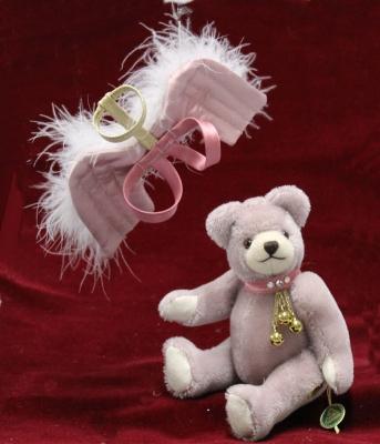 Club Bär 2019 – Mein Schutzengelchen 18 cm Teddy Bear by Hermann-Coburg