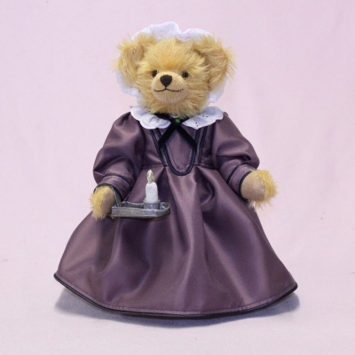 Florence Nightingale - The Lady with the Lamp 35 cm Teddy Bear by Hermann-Coburg