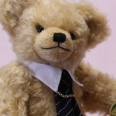 God is my help 10th June 1921 - 9th April 2021 in memory of HRH Prince Philip Duke of Edinburgh  Commemorative Bear on 10th June 2021 the 100th birthday of his Royal Highness would have been 34 cm Teddy Bear by Hermann-Coburg