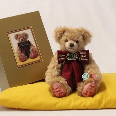 Royal 200th Double Birthday Jubilee 34 cm Teddy Bear by Hermann-Coburg