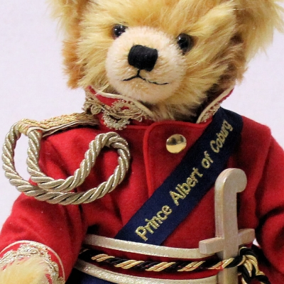 Prince Albert of Coburg Jubilee Edition 2019 37 cm Teddy Bear by Hermann-Coburg