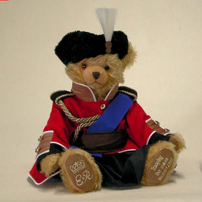 Trooping the Colour Teddy Bear by Hermann-Coburg
