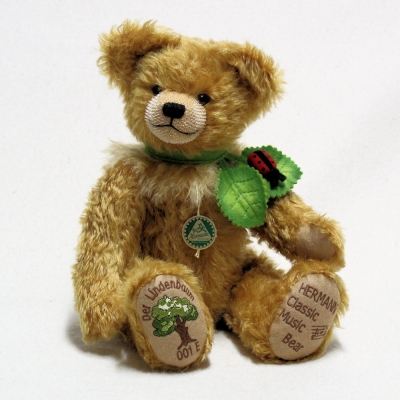 The Linden Tree (Musical) 35 cm Teddy Bear by Hermann-Coburg