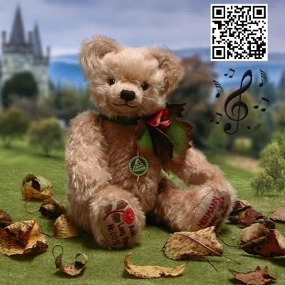 Auld Lang Syne 35 cm Teddy Bear by Hermann-Coburg