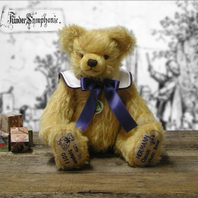 Little Toy Symphony Teddy Bear by Hermann-Coburg
