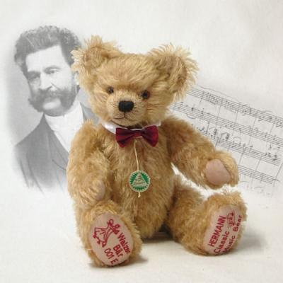Kleiner Walzerbär  Teddybär von Hermann-Coburg
