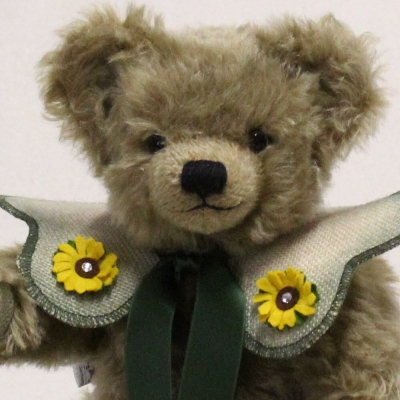 HERMANN Jahresbär 2018 37 cm Teddybär von Hermann-Coburg