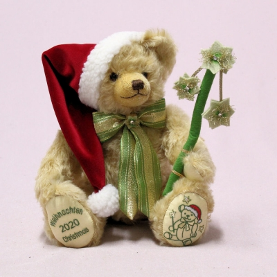 HERMANN Christmas Bear 2020  35 cm Teddy Bear by Hermann-Coburg