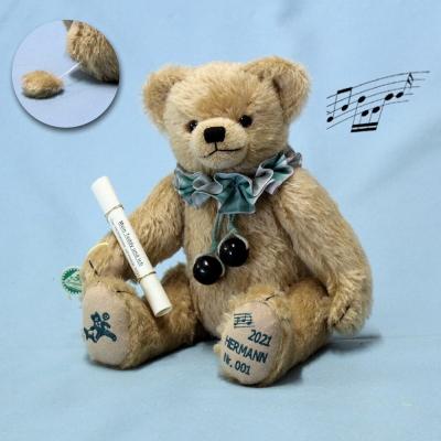 HERMANN Jahresbär 2021 – Mein Teddy und ich 36 cm Teddy Bear by Hermann-Coburg
