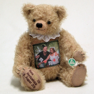 Der Foto-Individualbär – the Photo-Individual-Bear 38 cm Mohair  Teddybär von Hermann-Coburg