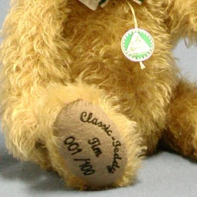 Classic-Teddy Tim Teddy Bear by Hermann-Coburg