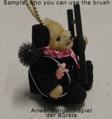 Chimney Sweep Brush for Doll and Teddybears