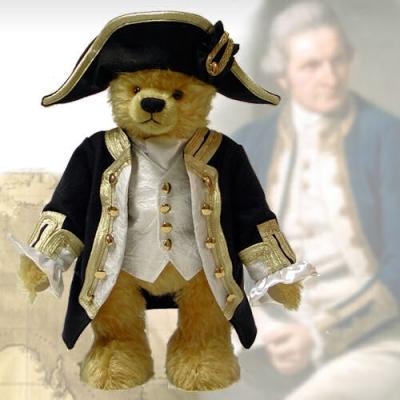 James Cook - Masterpiece Teddy Bear by Hermann-Coburg
