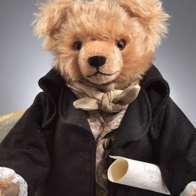 George Washington Teddy Bear by Hermann-Coburg