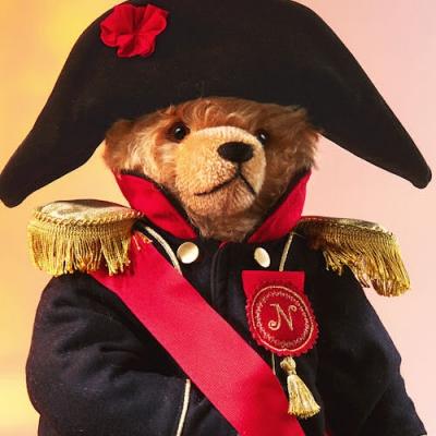 Napoleon Teddy Bear by Hermann-Coburg