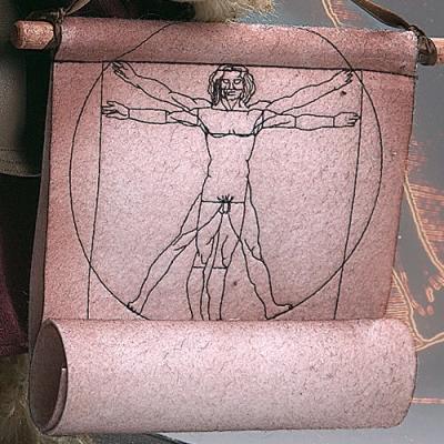 Leonardo da Vinci Teddy Bear by Hermann-Coburg