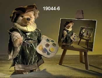 Rembrandt Teddy Bear by Hermann-Coburg