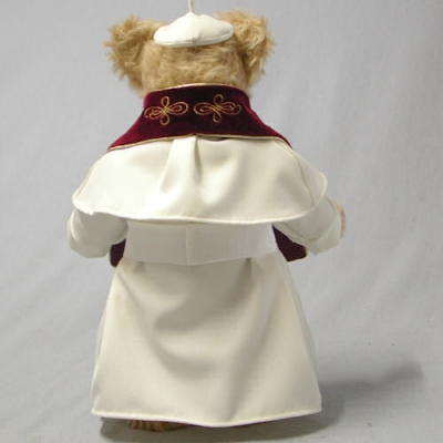 Summus Pontifex Franciscus Masterpiece Teddy Bear by Hermann-Coburg