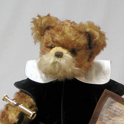 Galileo Galilei 38 cm Teddy Bear by Hermann-Coburg