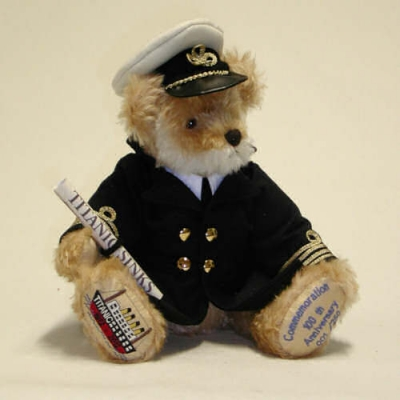 Titanic Memorial Teddy Bear by Hermann-Coburg