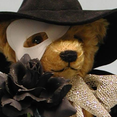 Phantom der Oper Teddy Bear by Hermann-Coburg