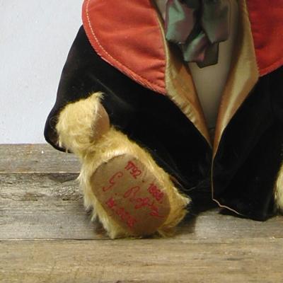 Gioachino Rossini Teddy Bear by Hermann-Coburg