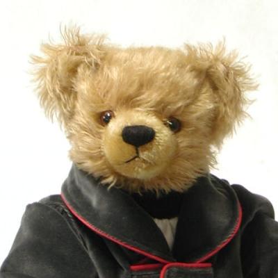 Johann Strauß - Vater Teddy Bear by Hermann-Coburg