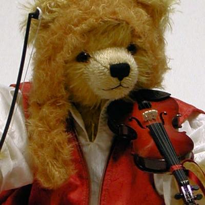 Antonio Vivaldi Teddybär von Hermann-Coburg